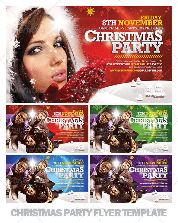 Flyer para Navidad Horizontal