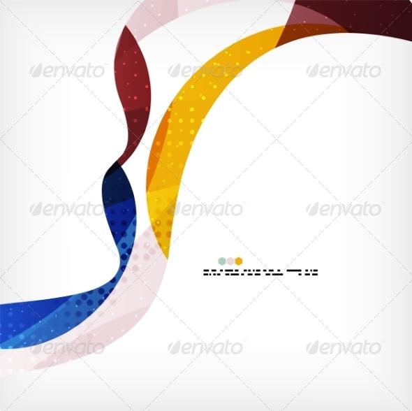 GraphicRiver Colorful Flowing Shapes 8062563