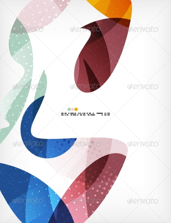 GraphicRiver Colorful Abstract Flowing Shapes 8062582