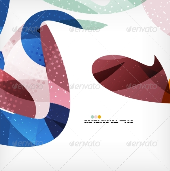 GraphicRiver Colorful Abstract Flowing Shapes 8062583