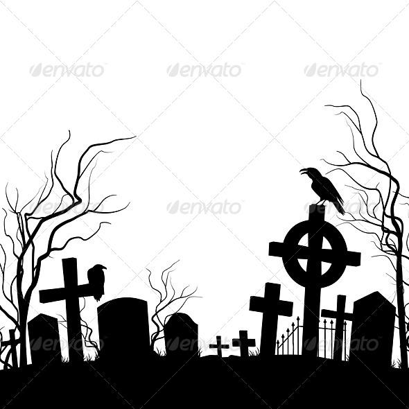 GraphicRiver Cemetery 8062672