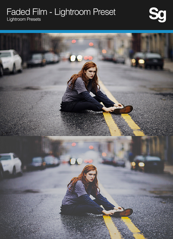 GraphicRiver Faded Film Lightroom Preset 8062715