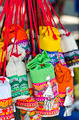 Colorful handmade bags at the weekend market - PhotoDune Item for Sale