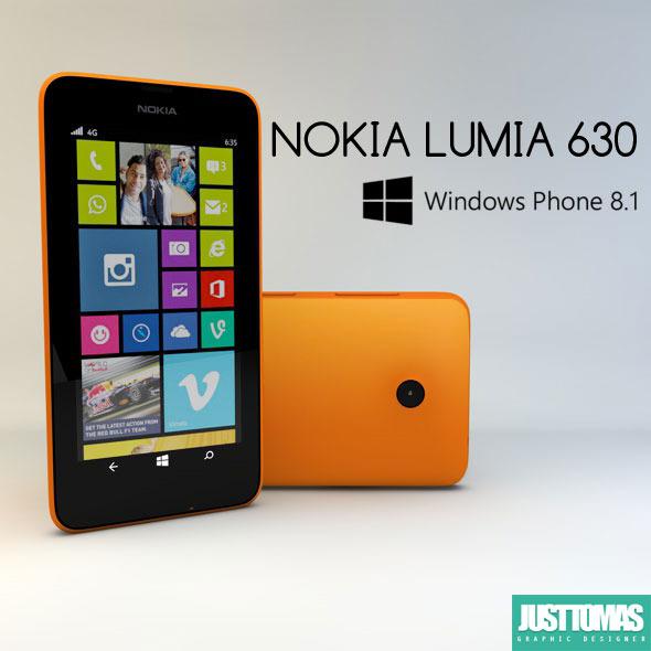 3DOcean Nokia Lumia 630 8063401