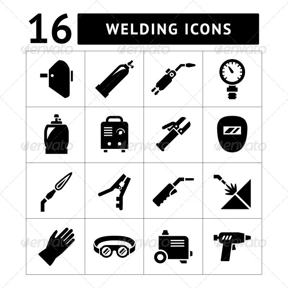 GraphicRiver Set Icons of Welding 8063423