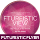 Futuristic View Flyer Design - GraphicRiver Item for Sale