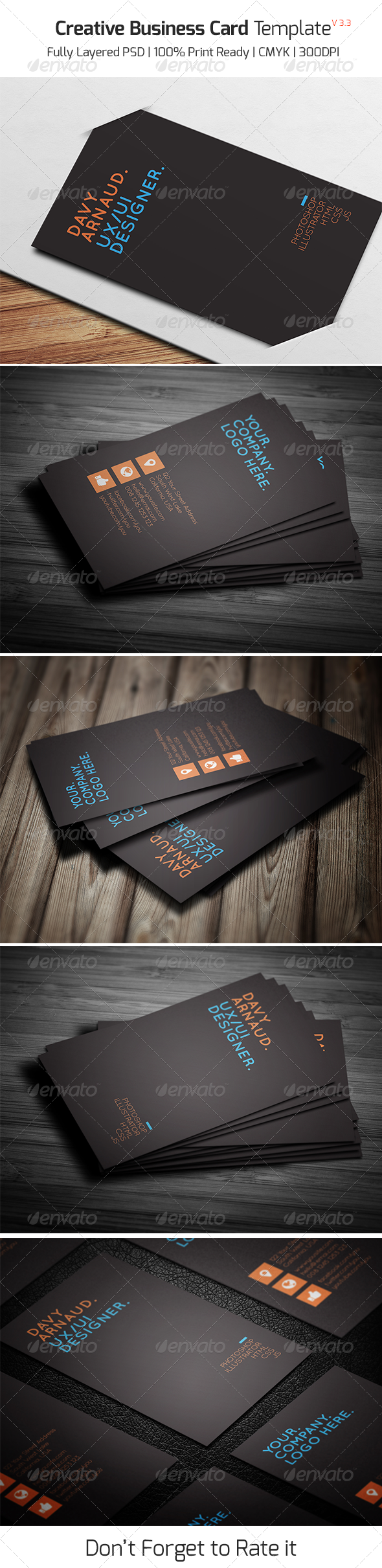 GraphicRiver Creative Business Card v3.3 8063870