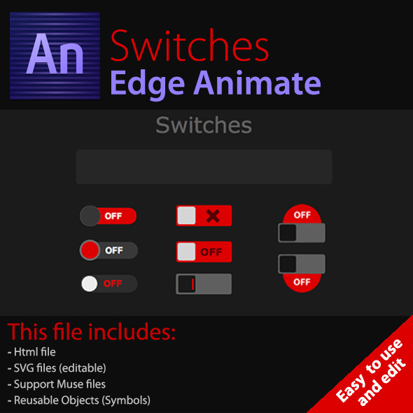 CodeCanyon Switches Edge Animate 8064264