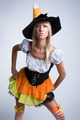 Witch Costume Woman - PhotoDune Item for Sale