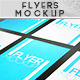 Realistic Flyers Mock-ups  - GraphicRiver Item for Sale