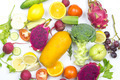 various vegetables and fruits - PhotoDune Item for Sale