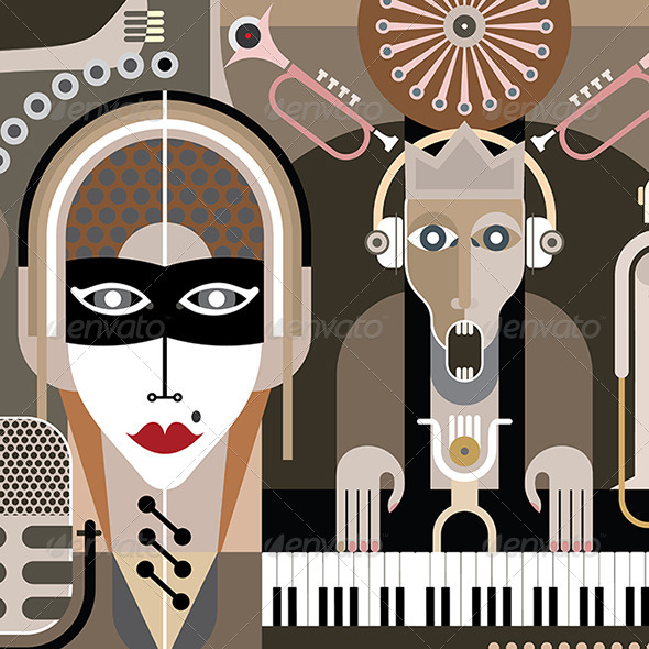 GraphicRiver Music Illustration 8065789