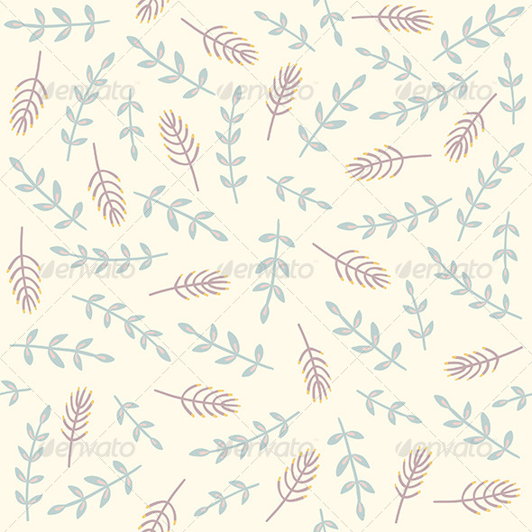 GraphicRiver Branches Pattern 8065834