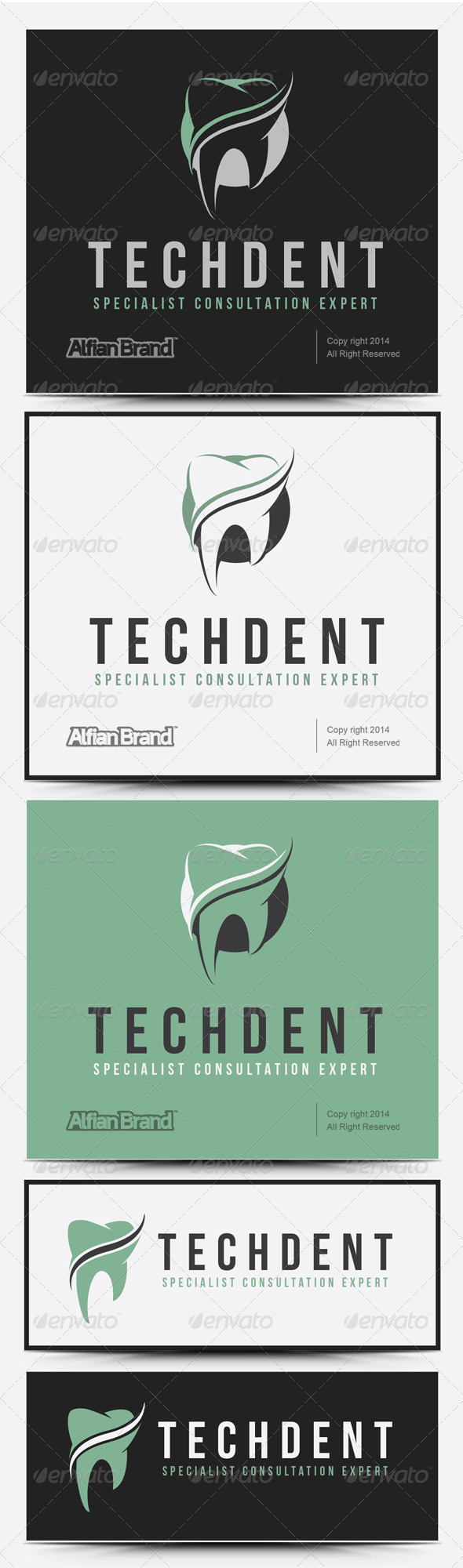 GraphicRiver Tech Dent Logo 8066290