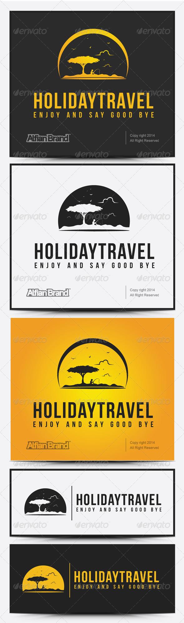 GraphicRiver Holiday Travel Logo 8066293