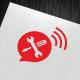 Call Serviceman Logo Template - GraphicRiver Item for Sale