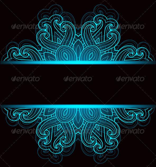 GraphicRiver Black Decorative Background 8067288