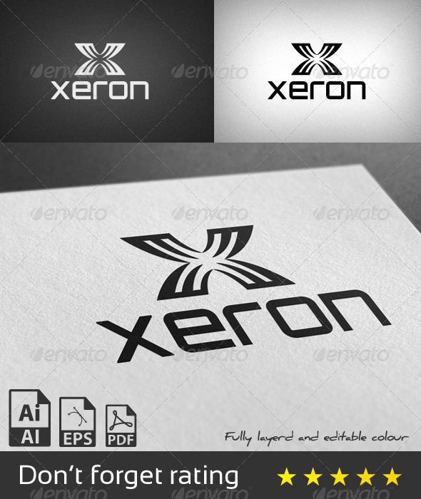 GraphicRiver Xeron Logo Template 8067438