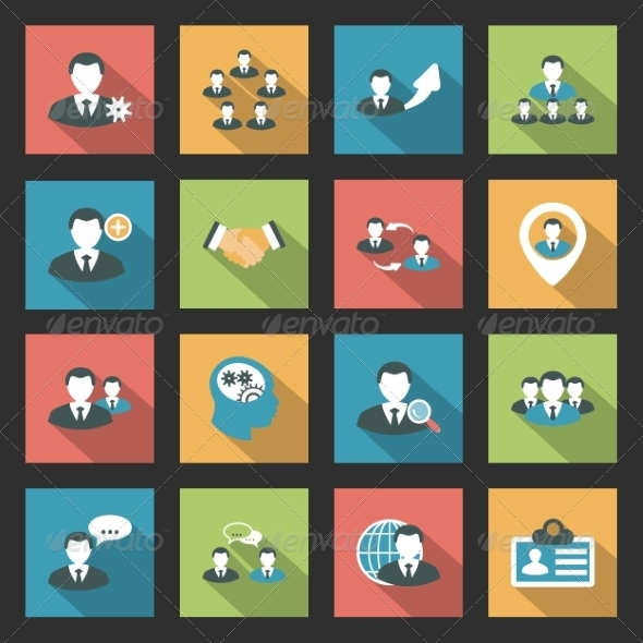 GraphicRiver Interaction Icons Set 8067576