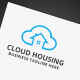 Cloud Housing Logo - GraphicRiver Item for Sale