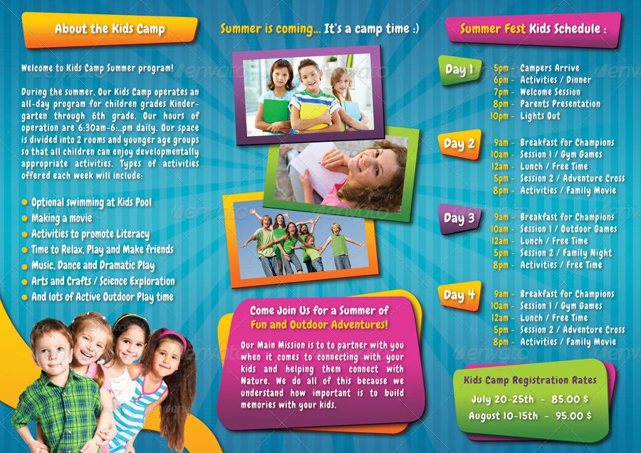 3 panel brochure template