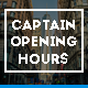 Captain Opening Hours - WordPress Plugin & Widget - CodeCanyon Item for Sale