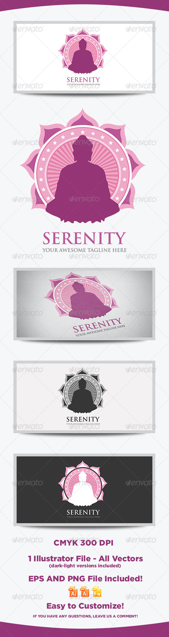 GraphicRiver Serenity Logo Template 8068042