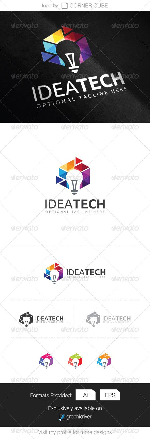 GraphicRiver Idea Tech Logo 8068201