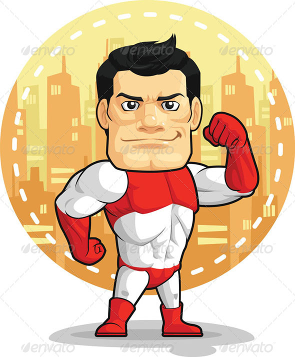 GraphicRiver Superhero 8068206