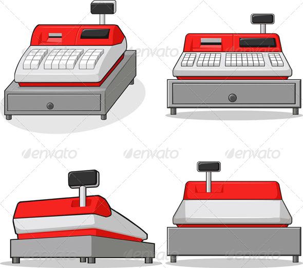 GraphicRiver Cashier Machine 8068225