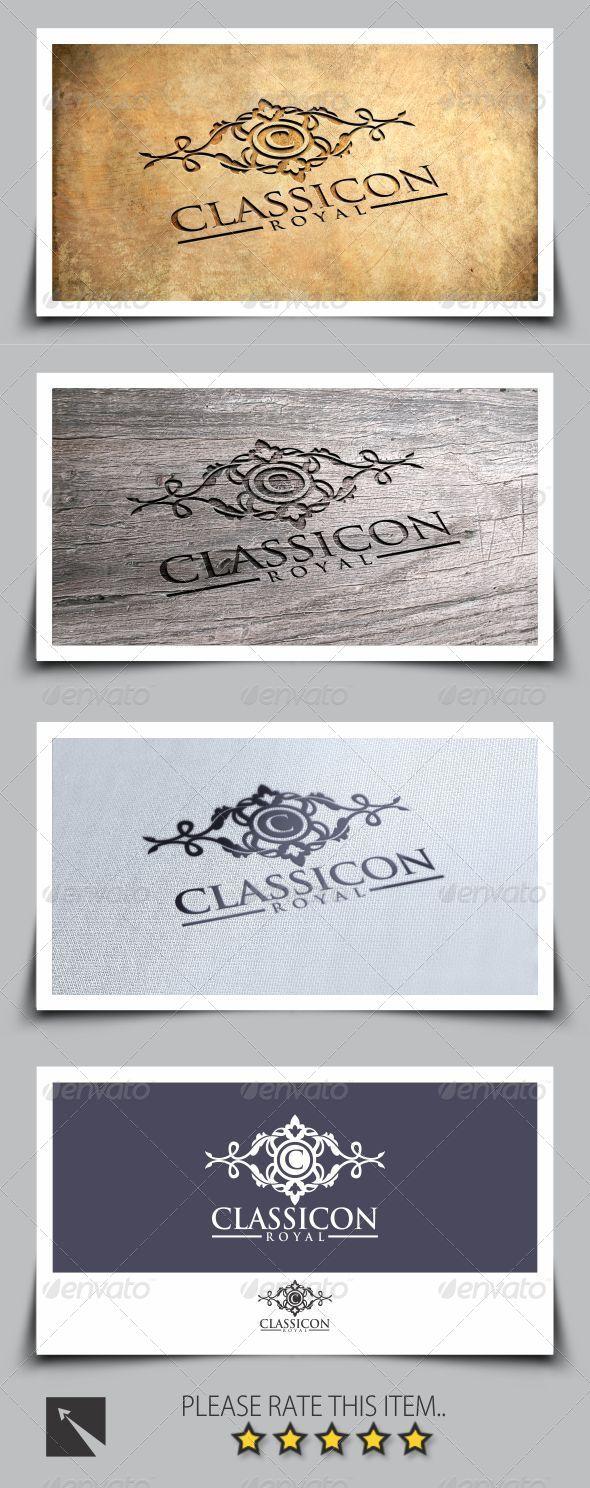 GraphicRiver Royal Classicon Logo Template 8068357
