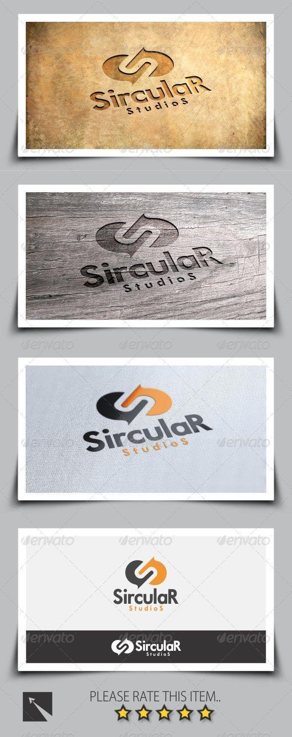 Sircular Studio Letter S Logo Template