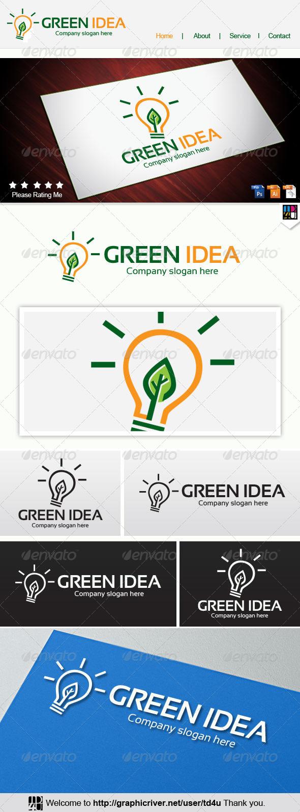 GraphicRiver Green Idea 8068977