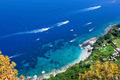 View of the coast of the island of Capri - PhotoDune Item for Sale