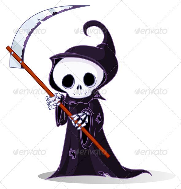 GraphicRiver Grim Reaper 8069393
