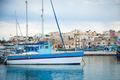 Marsaxlokk with boats, Malta - PhotoDune Item for Sale