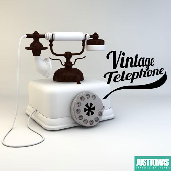 3DOcean Vintage telephone 8069407