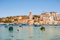 Marsaskala bay with boats, Malta - PhotoDune Item for Sale