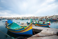 Marsaxlokk with boats, Malta - PhotoDune Item for Sale