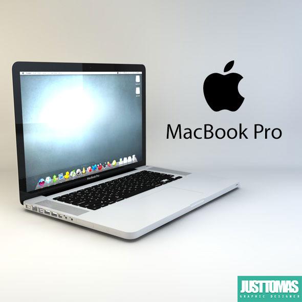 3DOcean MacBook Pro 8069414