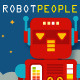 Robot People Character Design Vector Pack - GraphicRiver Item for Sale