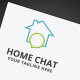 Home Chat Logo - GraphicRiver Item for Sale