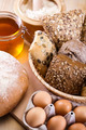 Assortment of baked bread  - PhotoDune Item for Sale