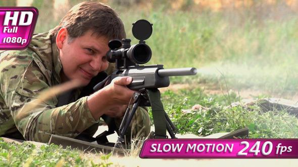 VideoHive Sniper Shot 8070012