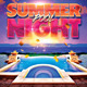 Summer Pool Night Flyer - GraphicRiver Item for Sale