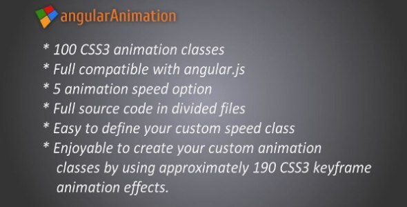 CodeCanyon Angular Animation 8032198