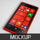 Realistic Phone Mockup - GraphicRiver Item for Sale
