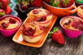Strawberry muffins - PhotoDune Item for Sale
