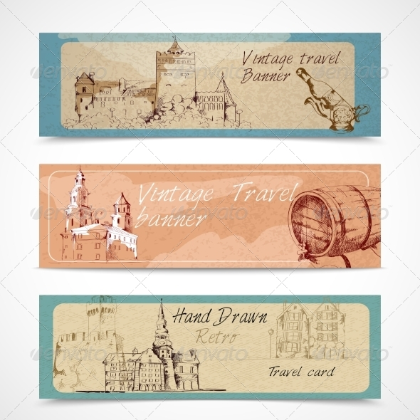 GraphicRiver Old City Banners 8070435