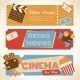 Retro Movie Banners - GraphicRiver Item for Sale